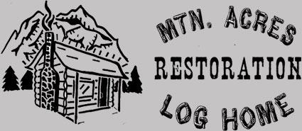 Mtn Acres Log Home Restoration Logo